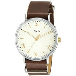 Timex Southview 41 mm Brown Leather Watch TW2R80400