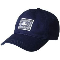Lacoste Mens Graphic Twill Hat