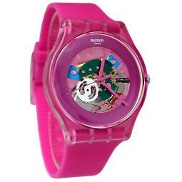 Swatch Orangish Lacquered Quartz Movement Orange Dial Unisex Watches
