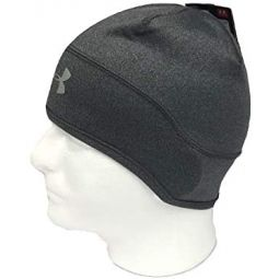 Under Armour Mens UA ColdGear Infrared Dark Gray Beanie
