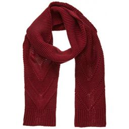 Roxy Womens Lovers Soul Knitted Scarf