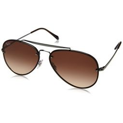 Ray-Ban Mens Blaze Aviator Sunglasses
