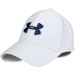 Under Armour Mens Printed Blitzing 3.0 Stretch Fit Cap
