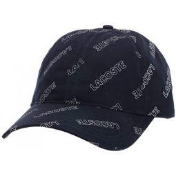 Lacoste Mens Lacoste Printed Cap