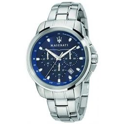 Maserati successo Mens Analog Quartz Watch with Stainless Steel Bracelet R8873621002