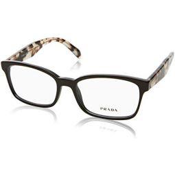 Prada Womens PR 18TV Eyeglasses 53mm