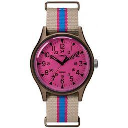 Timex MK1 Aluminum California 40 mm Pink Dial Watch TW2T25600