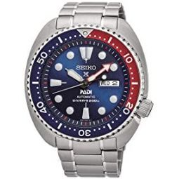 Seiko Prospex Padi Automatic Watch, Blue, 45mm, 20 atm, Day and date, SRPA21K1