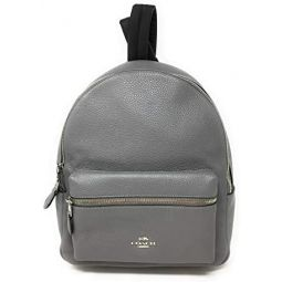 COACH Pebbled Leather Medium Charlie Backpack