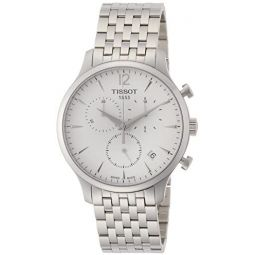 Tissot Mens T0636171103700 Analog Display Quartz Silver Watch: Tissot: Clothing