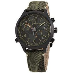 Timex Waterbury Quartz Black Dial Mens Watch TW2R43200