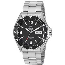 Orient Mens Mako II Japanese Automatic / Hand-Winding Stainless Steel 200 Meter Diving Watch