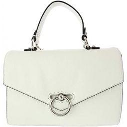 Rebecca Minkoff Womens Jean Conv Backpack - Optic White