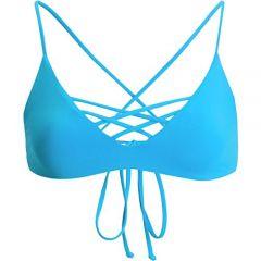 L Space New Womens JoJo Reversible Bikini Top Nylon Spandex
