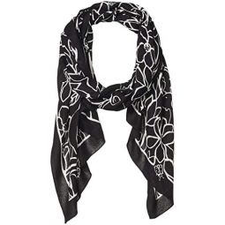 Kate Spade New York Scribble Floral Oblong Scarf