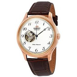 Orient Open Heart Automatic White Dial Mens Watch RA-AG0012S10B
