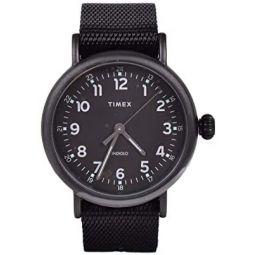 Timex Standard 40 mm Black Fabric Strap Watch TW2T20800