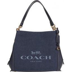 COACH Horse & Carriage Jacquard Dalton Shoulder Bag