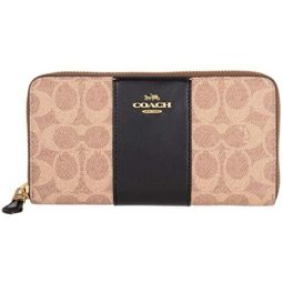 Coach Signature Ladies Small Multi-Color Leather Wallets 31546B4OOH