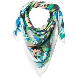 Kate Spade New York Full Bloom Large Square Scarf