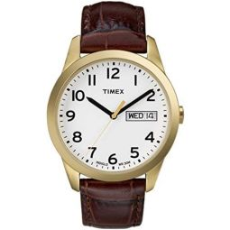 Timex Mens South Street Sport |Brown| Dress Watch T2N065