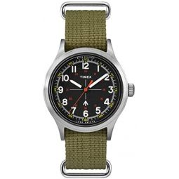 Timex x Todd Snyder Mens Military-Inspired 40mm Watch