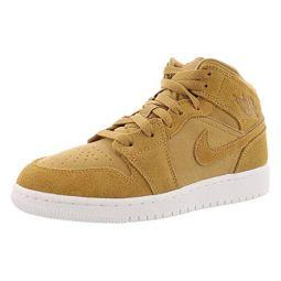 Jordan Retro 1 Mid Basketball Boys Shoes Size