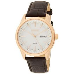 Seiko Conceptual White Dial Mens Watch SNE530