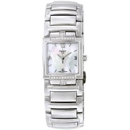 Tissot Womens T051.310.61.117.00 Mother-Of-Pearl Dial T Evocation Watch