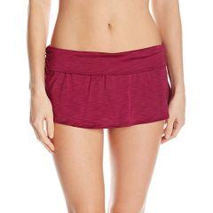 Athena - Cabana Solids Maliah Flared Skirted Bikini Bottom