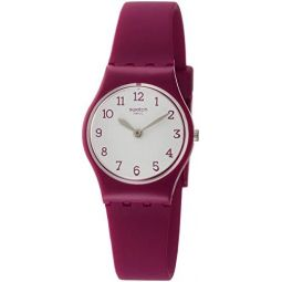Swatch Originals Quartz Movement White Dial Ladies Watch LR130