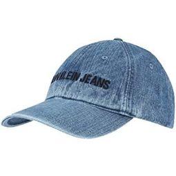 Calvin Klein Jeans Mens Embroidered Denim Snapback Hats