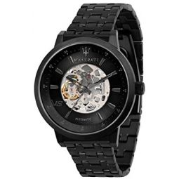 Maserati Gran Turismo Mens Analog Automatic Watch with Stainless Steel Bracelet R8823134002