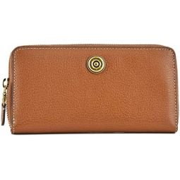 Lauren Ralph Lauren Millbrook Flap Continental Wallet (Tan)