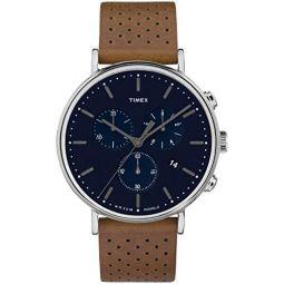 Timex Mens Fairfield Chrono 41mm Watch