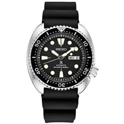 Seiko SRPE93 Prospex Mens Watch Black 45mm Stainless Steel