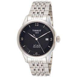 Tissot Mens Le Locle Chronometre Black Dial Mens Watch T006.408.11.057.00