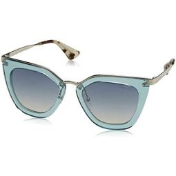 프라다 여성용 투명 선글라스