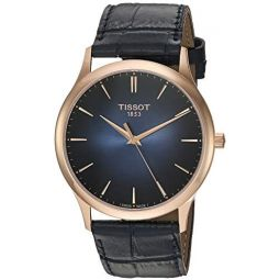 Tissot Mens Excellence Swiss Quartz Steel And 18K Gold Dress Watch (Model: T9264107604100): Clothing