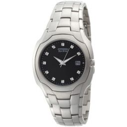 Citizen Mens BM6010-55G Eco Drive Stainless Steel Watch