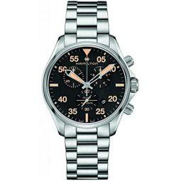 Hamilton Khaki Pilot Black Dial Stainless Steel Mens Watch H76722131