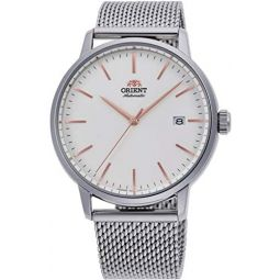 Orient Contemporary Automatic White Dial Mens Watch RA-AC0E07S10B