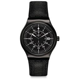 Swatch Irony Automatic Movement Black Dial Unisex Watch YIB400: Swatch: Clothing