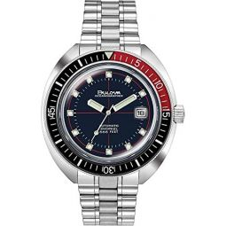 Bulova Mens Analogue Automatic Watch with Stainless Steel Strap 98B320