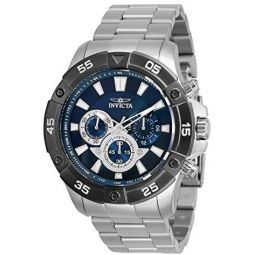 Invicta Pro Diver Men 48mm Stainless Steel Blue dial Quartz, 30754