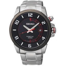 Seiko Kinetic Mens Kinetic Watch SKA553