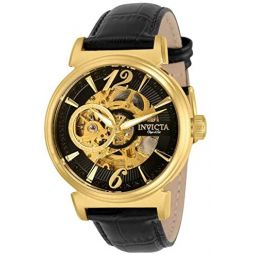 Invicta Objet D Art Automatic Black Dial Mens Watch 30463