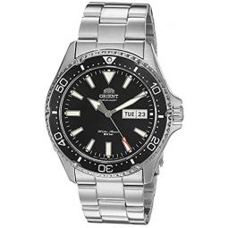 Orient Mens Kamasu Stainless Steel Japanese-Automatic Diving Watch