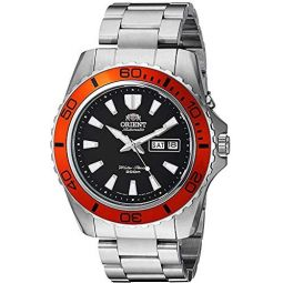 Orient Mens Mako XL Japanese Automatic Stainless Steel Diving Watch