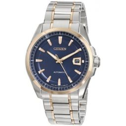 Citizen Mens NB0046-51L Grand Classic Stainless Steel Automatic Watch